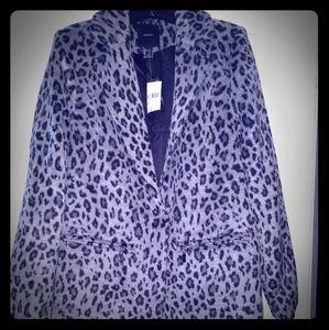 Forever 21 Car Leopard Print Coat
